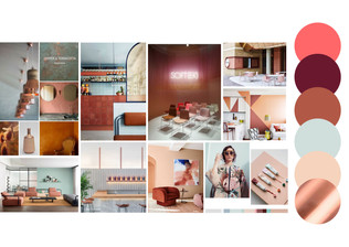 Colour presentation storyboard
