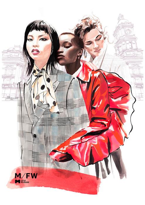 Melbourne Fashion Week 2019