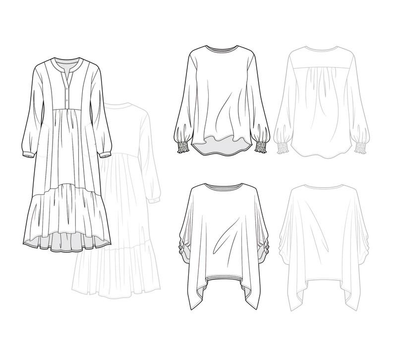 Flatlay Sketches