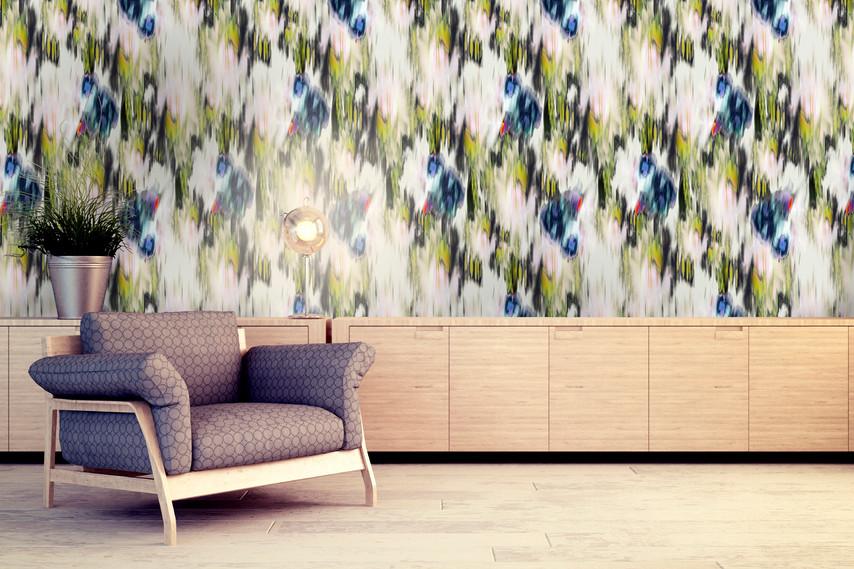 Abstract Garden Wallpaper