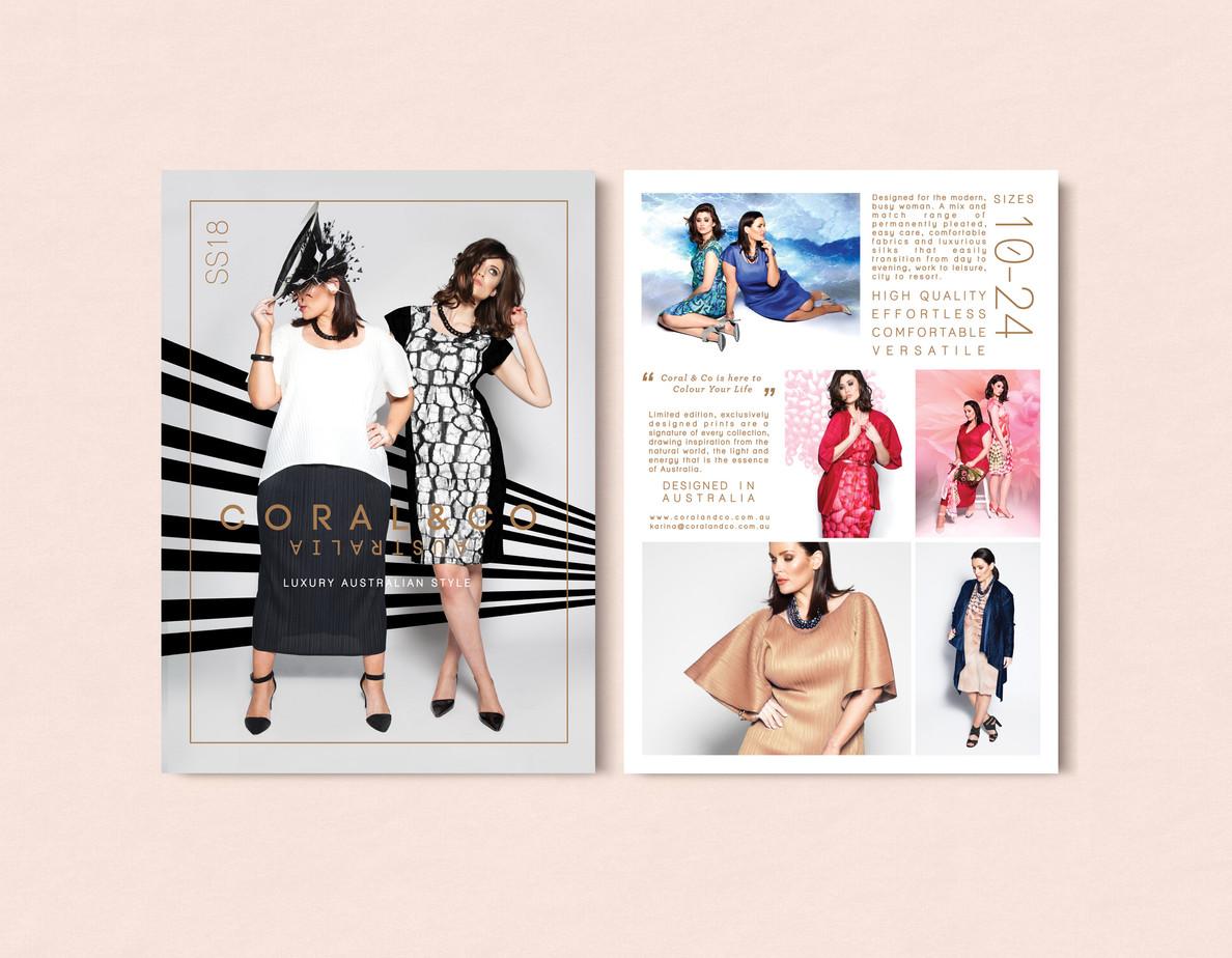 Fashion Marketing Flyer
