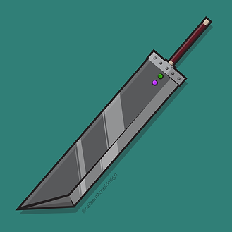 FF7 Buster Sword
