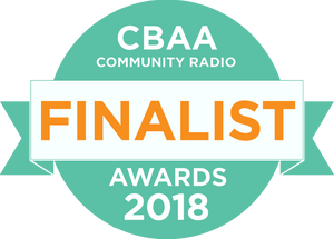 Nominated for THREE national CBAA Awards