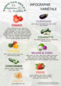 choix varietal legumes printemps tomate aubergne poivron salade melon
