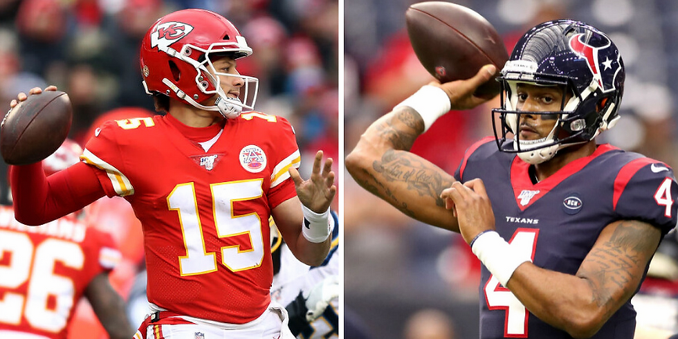 Texans vs Chiefs Divisional Round