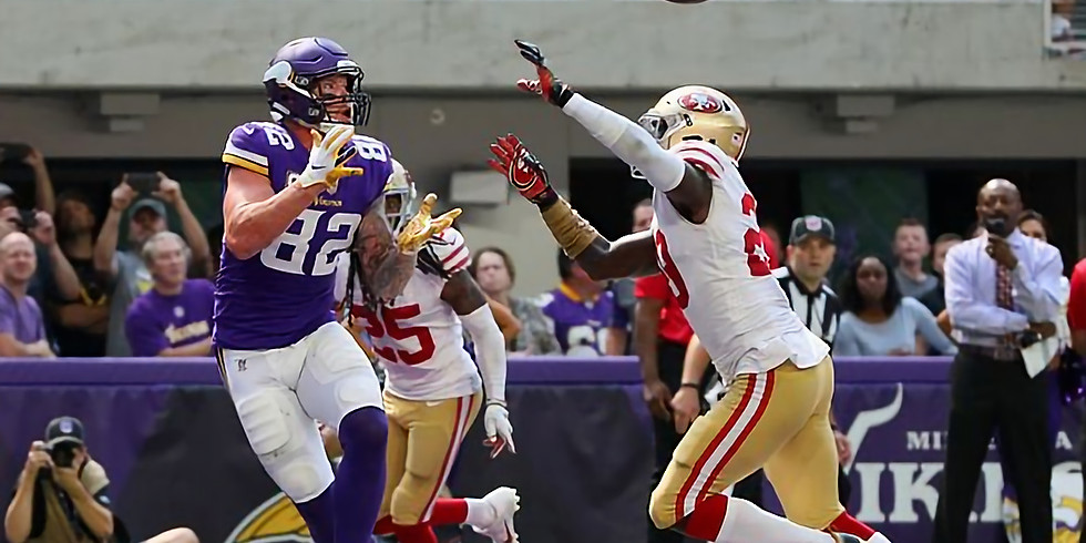 Vikings vs 49ers Divisional Round
