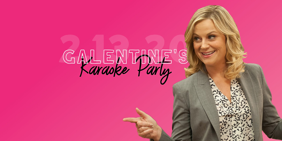 Galentine's Day Live Band Karaoke featuring High Society