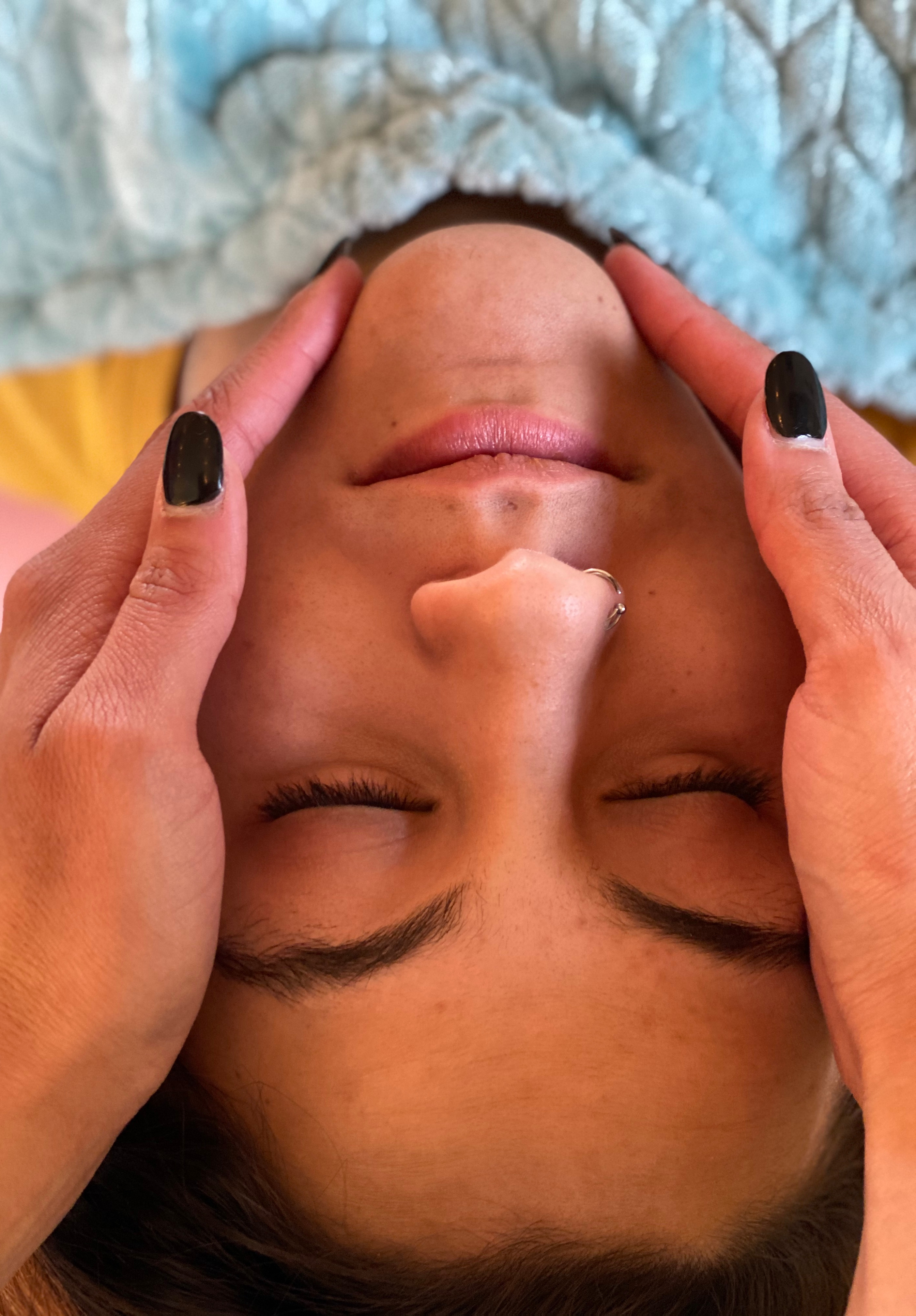 Hands on healing and spiritual cleanse
