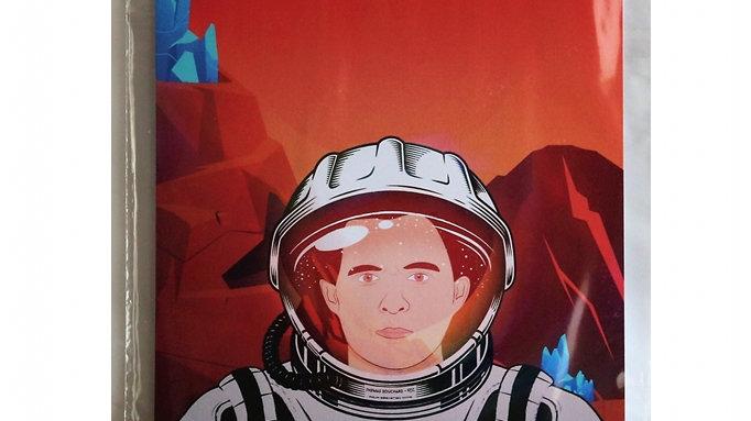 "AFFICHE A4 ""MISSION MARS"""