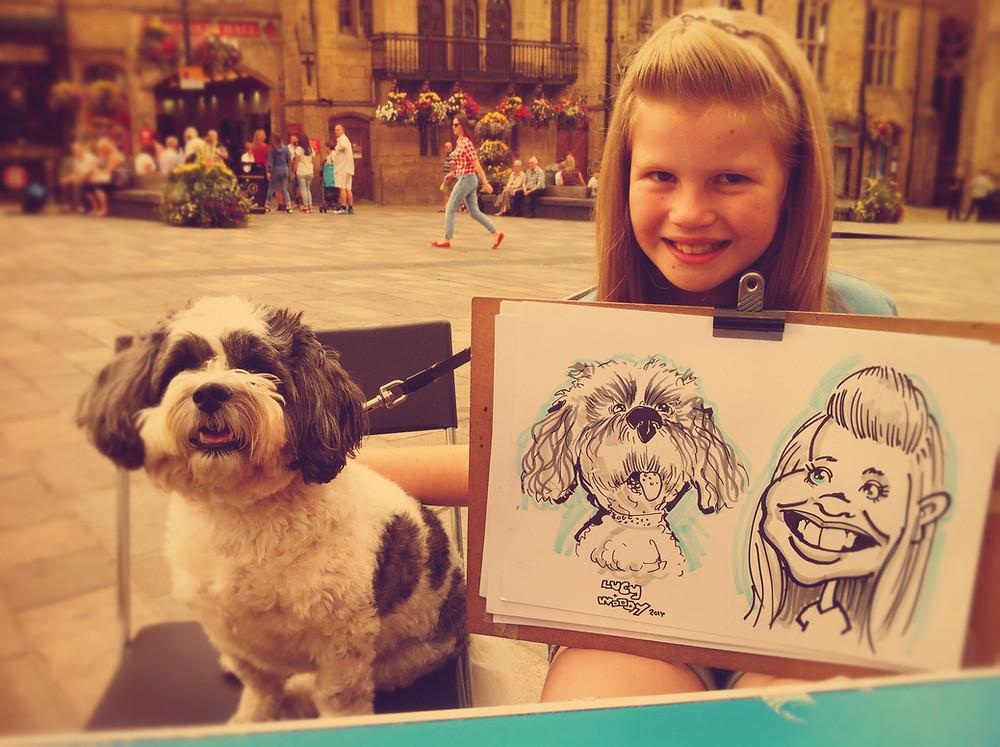 Durham caricaturist