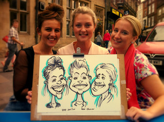 Notes from a caricaturist in County Durham