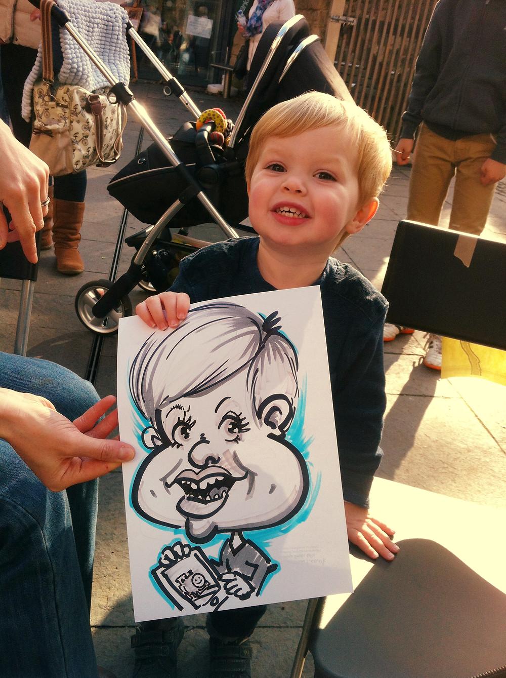 Jesmond Dene Art Market caricature.JPG