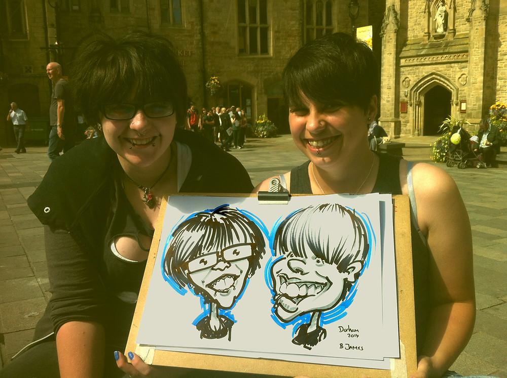 Caricatures Durham