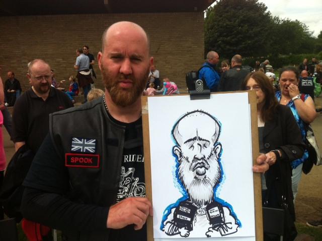 Caricature Northumberland