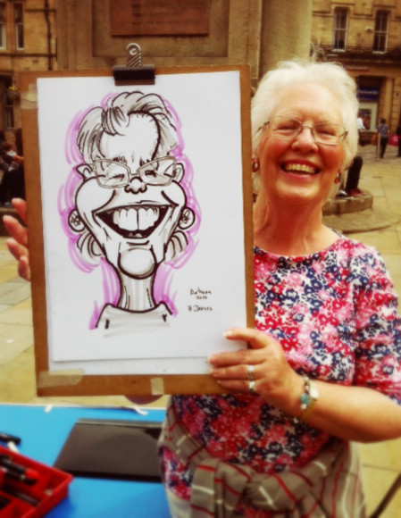 Caricaturist Newcastle