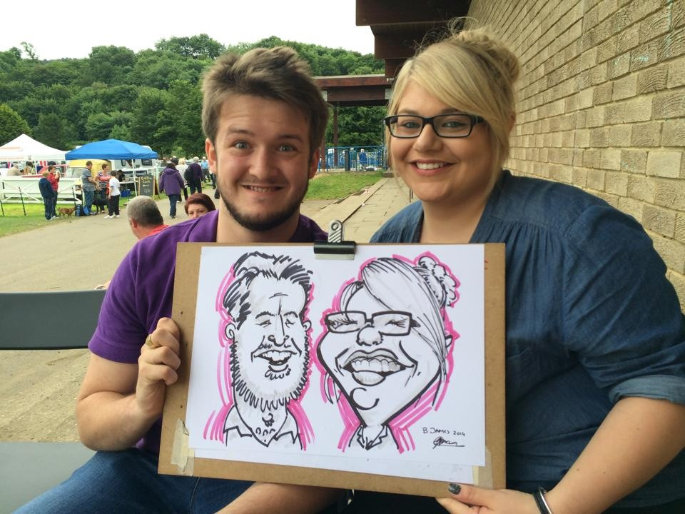 Caricature Newcastle North East