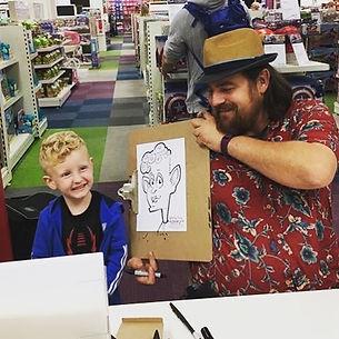 Live Caricature Entertainment!