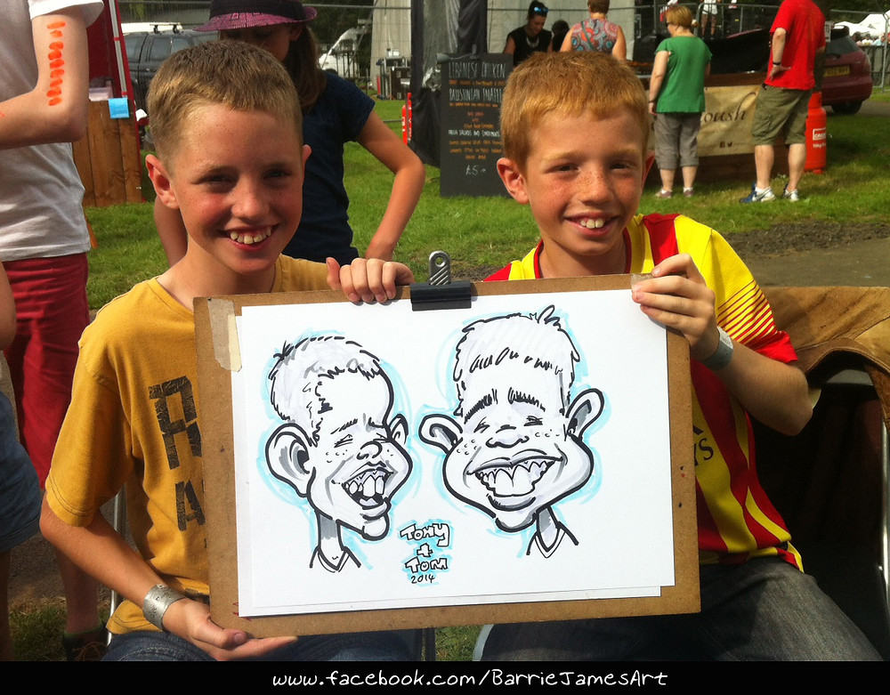 Caricature Newcastle