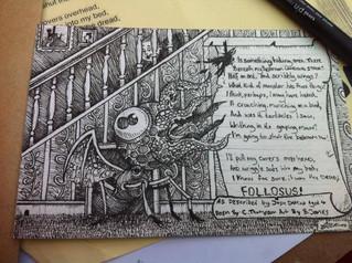 The Dread Follossus! Imagined by Joshua DaMina aged 4,
