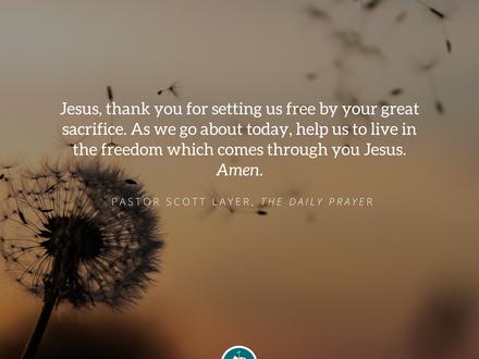 The Daily Prayer: April 15, 2020
