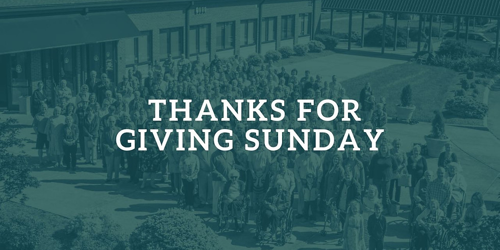 ThanksforGiving Sunday