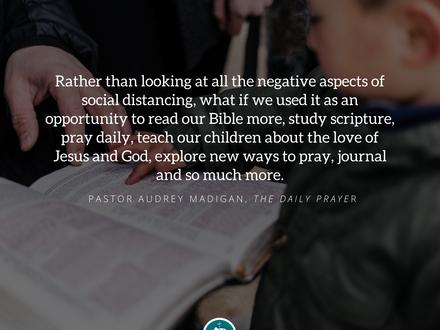 The Daily Prayer: April 6, 2020