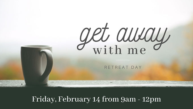 Get Away With Me Retreat