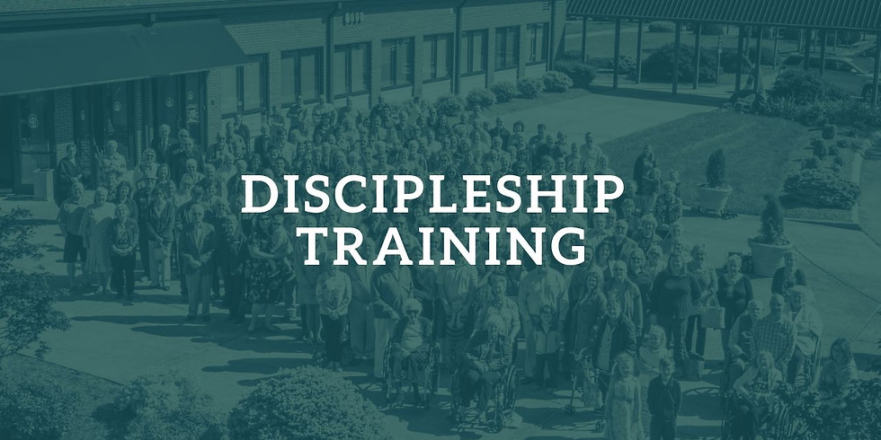 Sunday Evening Class: Discipleship Training