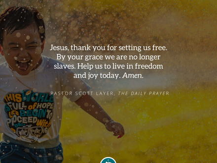 The Daily Prayer: April 16, 2020