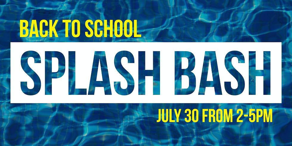 Back-to-School Splash Bash