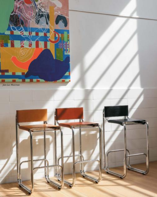 Be.Classics | CAP D'ARGENT stool 78 cm
