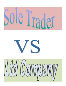 S K Punia Accountant provide guidance on Sole trader VS limited company structure.