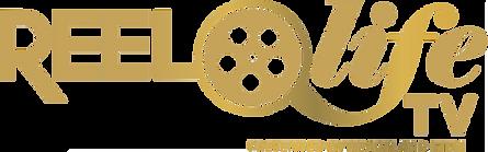 REEL LIFE TV LOGO horizontal gold.png