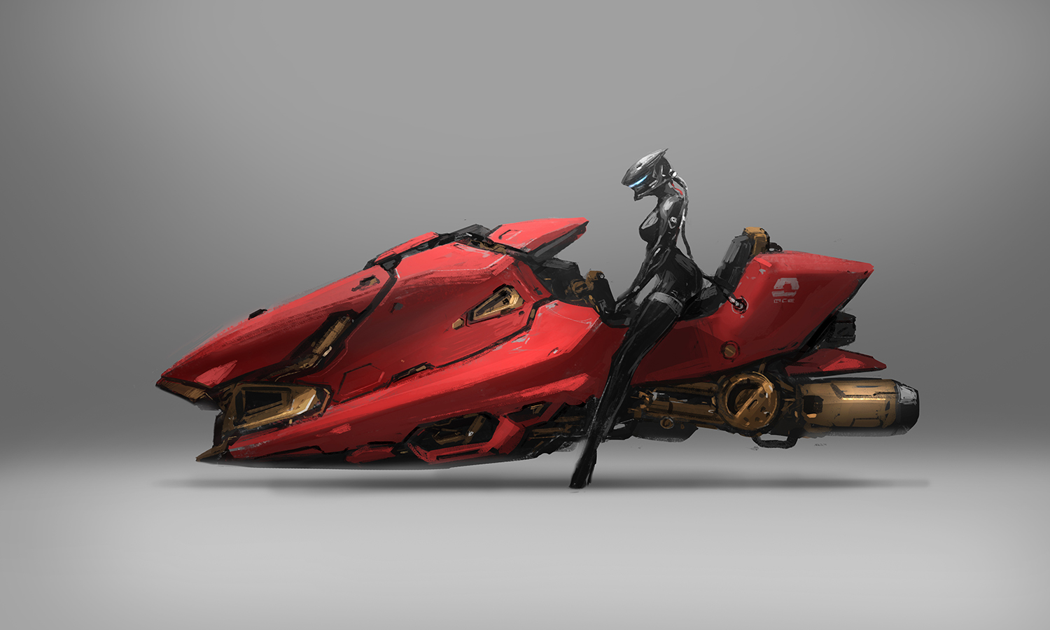 speeder concept art process 2