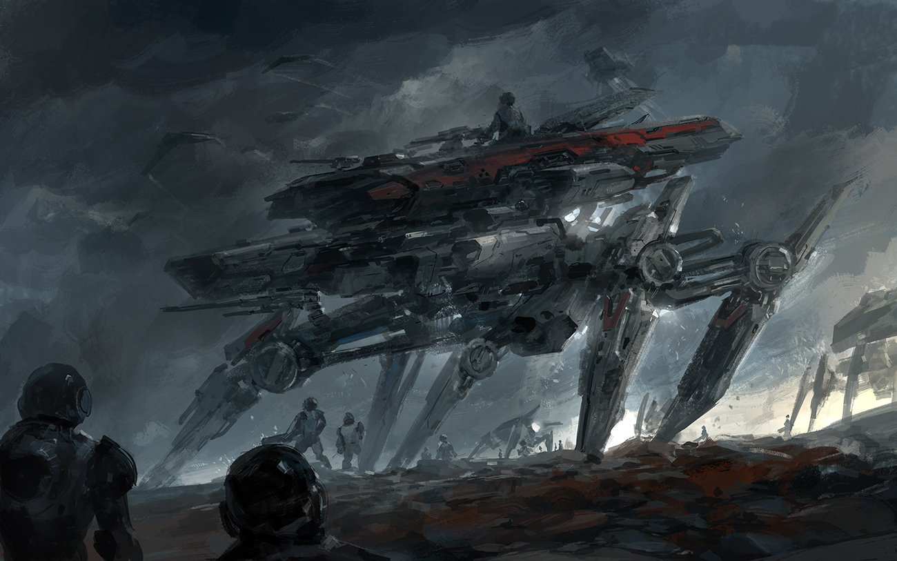 battle concept