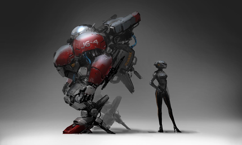 robot concept process