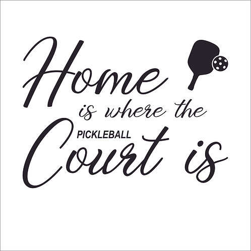 DIY Home is Where the Court Is  in Classic vinyl