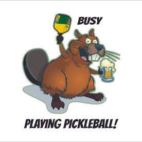 Beaver Sask Pickleball Beer