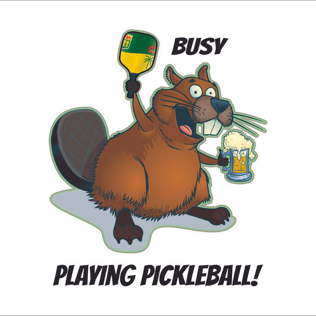 Beaver Sask Pickleball Beer