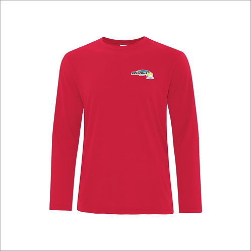 Pickleball Regina Inc. - Unisex Moisture Wicking Long Sleeved shirt