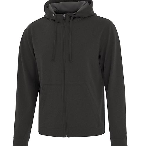 Men's Full Zip Hooded Sweater