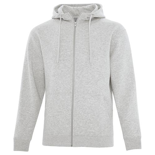 DIY Full Zip Heavy Hooded Sweatshirt