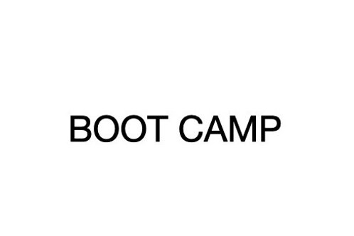 Boot Camp - horizontal