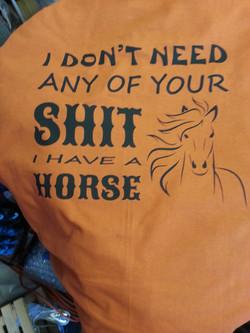 I Have a Horse shirt