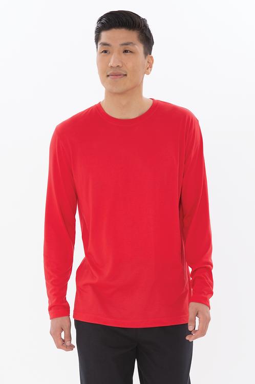 DIY Unisex Wicking Polyester Long Sleeve Shirt