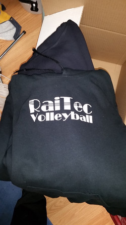 Volleyball team apparel