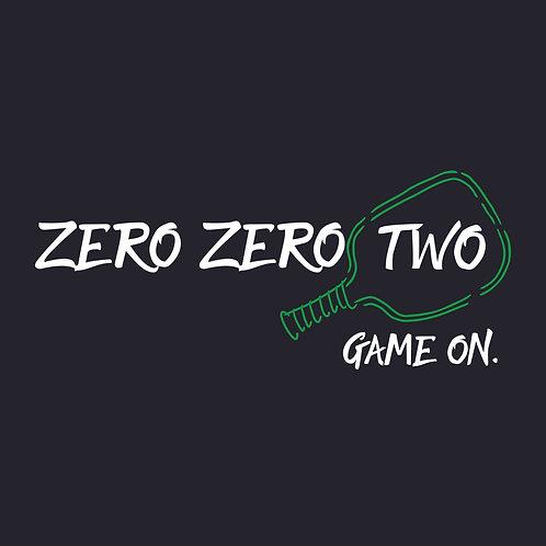 DIY Zero Zero Two Game On in Classic vinyl