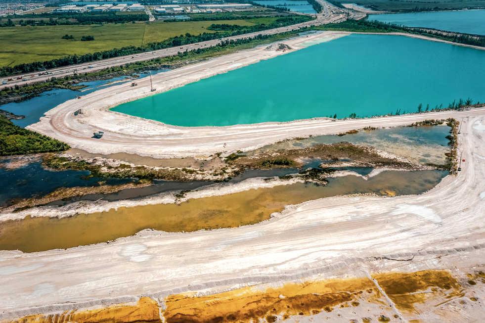 Aerial Photography Art Miami