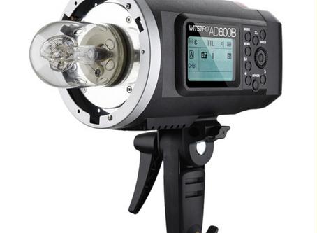 New Lighting Equipment. Godox 600w/s