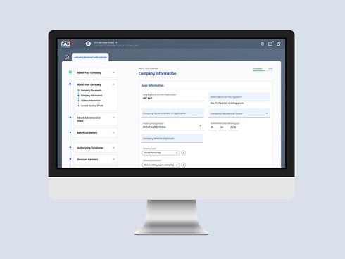First Abu Dhabi Bank Corporate Baniing Platform